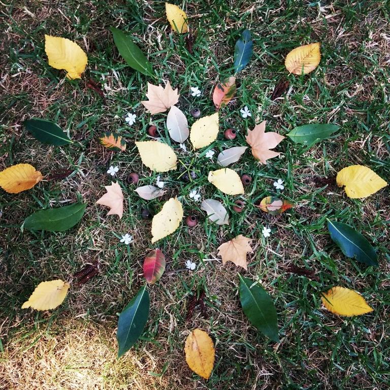 Nature Mandala and Mobile Workshop, Carlton Gardens ...