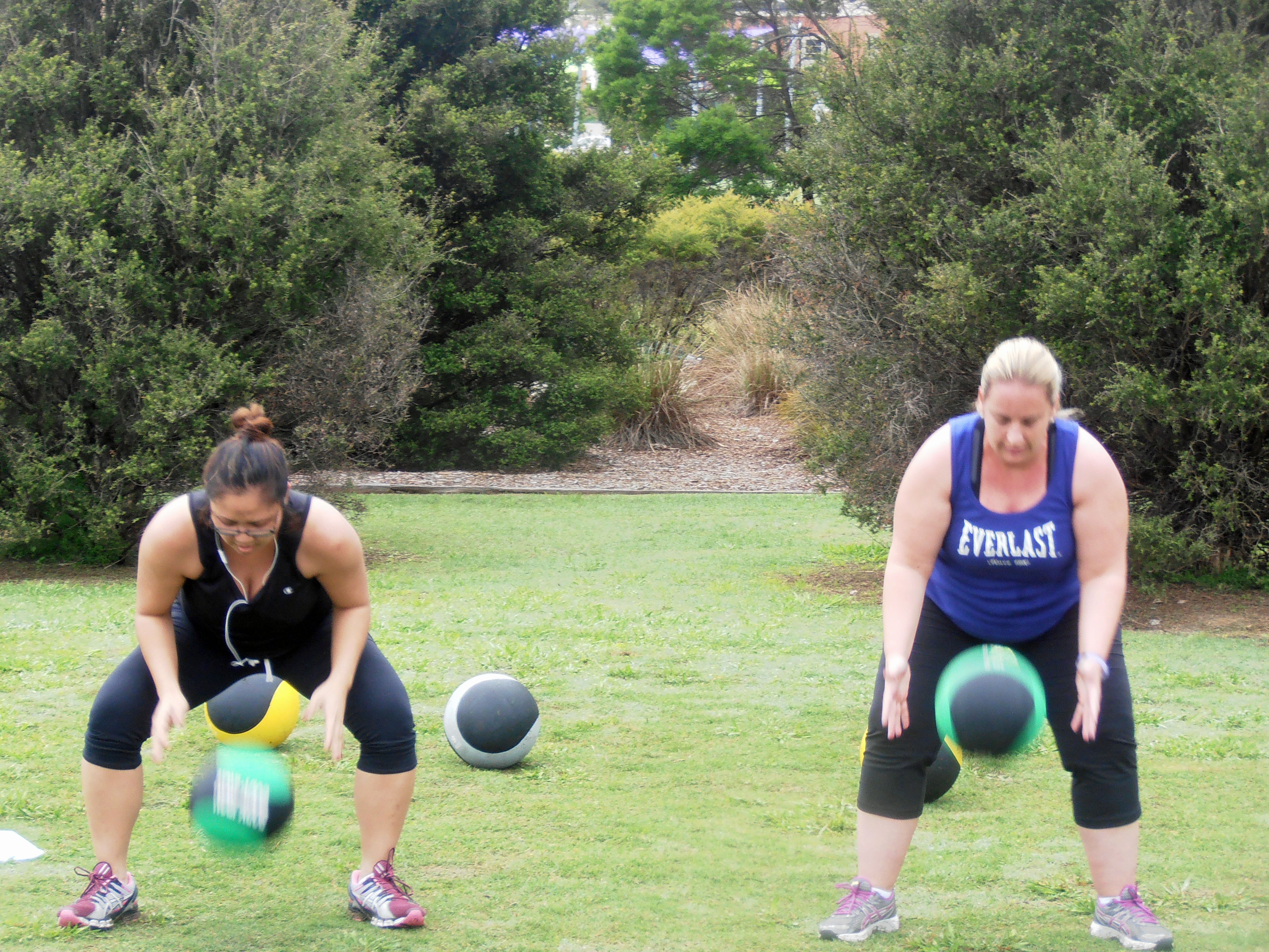 Outdoor Group Fitness Training - Active in Parks